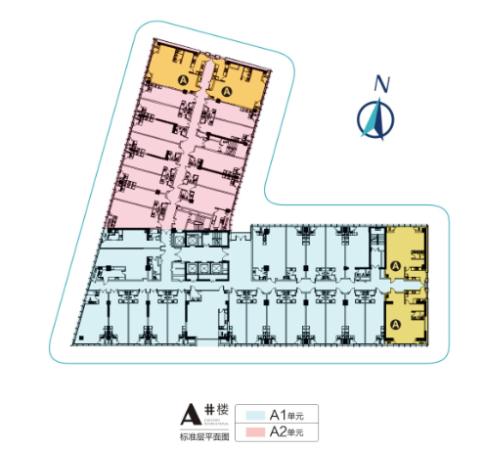 西安欧亚国际一期1号楼LOFT平层图