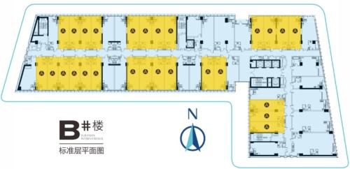 西安欧亚国际一期2号楼LOFT平层图