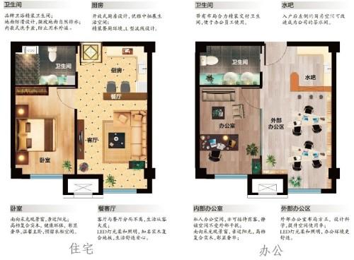 大运河孔雀城商住两用型公寓