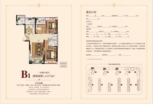 颍上成美·翡翠公馆B1