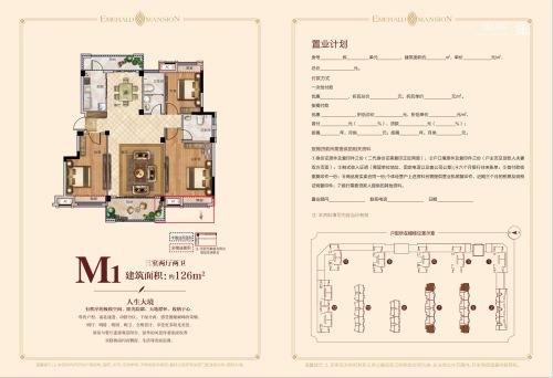 颍上成美·翡翠公馆M1