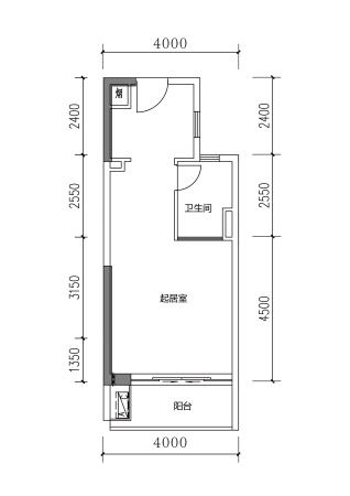 保利金町湾贝壳公寓1#2#3#40~60㎡