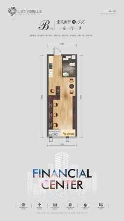 名仕•金融中心54平