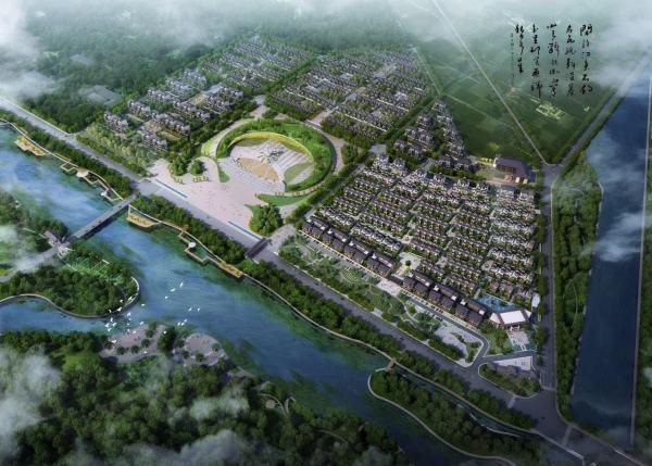 聚龙温泉康养小镇实景图