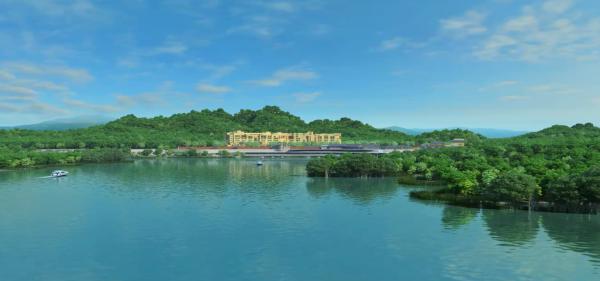 汤川俠谷文化旅游度假项目效果图