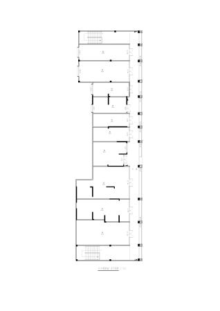 天悦华府10#一楼商铺平面图