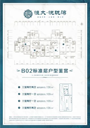 滨州恒大悦珑湾B02标准层