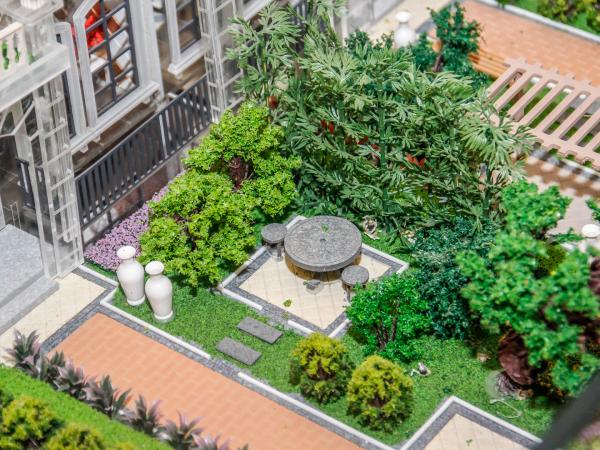 天齐奥东花园项目现场