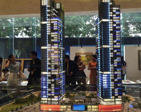 深圳双子湾项目现场