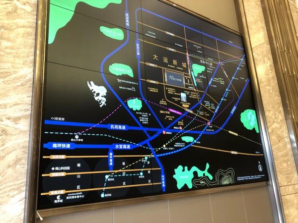 佳兆业未来时代大厦区位图