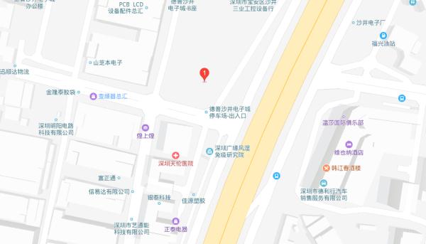 唐商大厦区位图