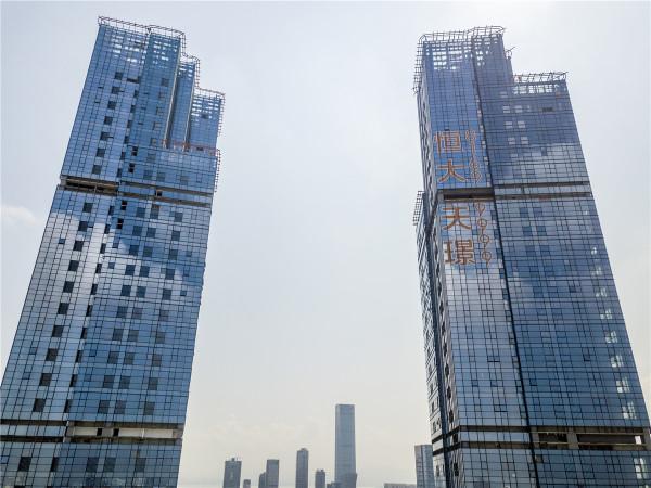 深圳双子湾实景图