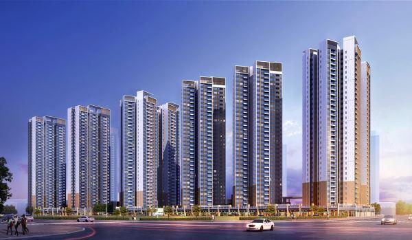 佳兆业未来时代大厦效果图