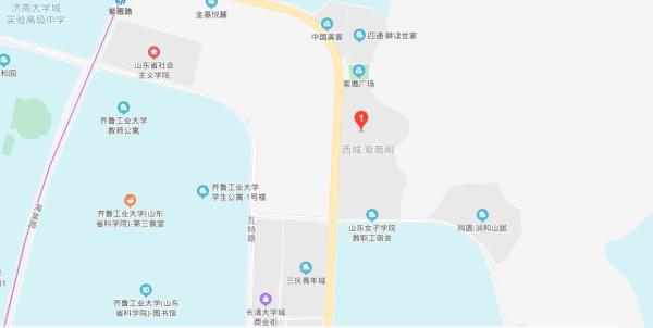 紫薇阁区位图