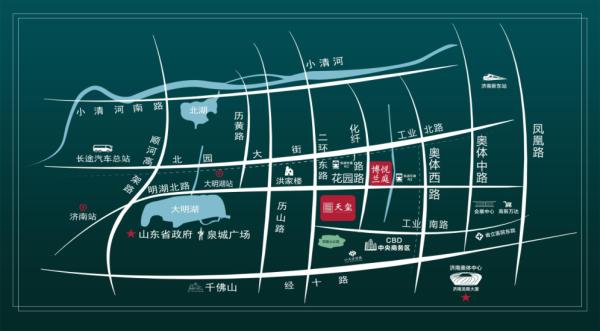 海尔产城创博悦兰庭区位图