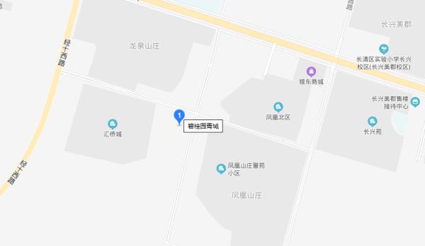 碧桂园青城区位图