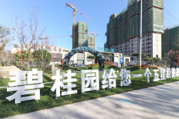 商河碧桂园公园上城实景图