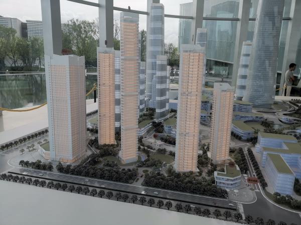 世茂深港国际中心项目现场