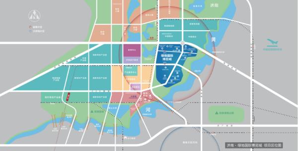绿地国际博览城区位图