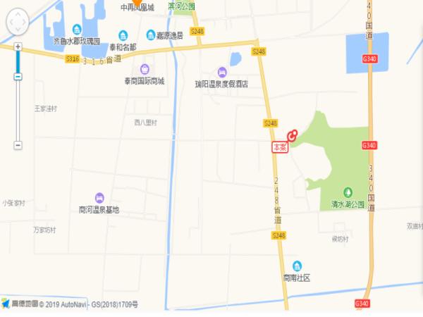 北纬37°康旅示范小镇区位图