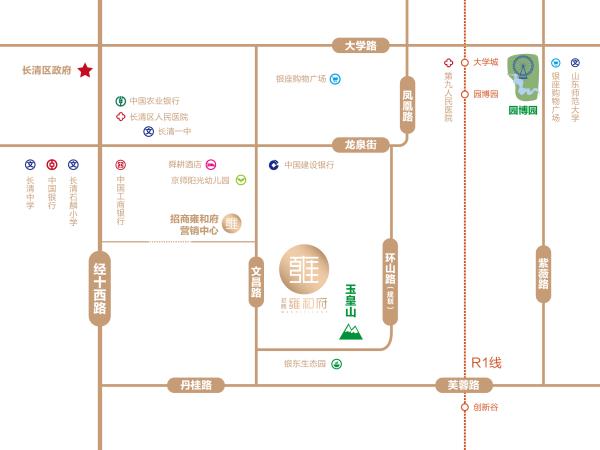 招商雍和府区位图