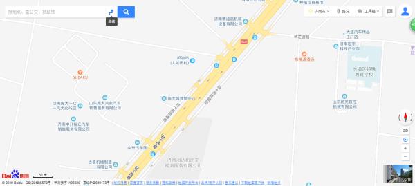 庞大城区位图