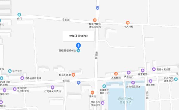 碧桂园梧桐书院区位图