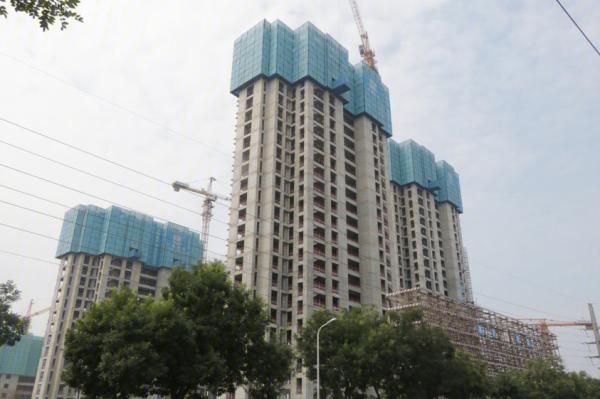 雅居乐锦城项目现场