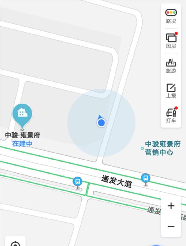 中骏雍景府区位图