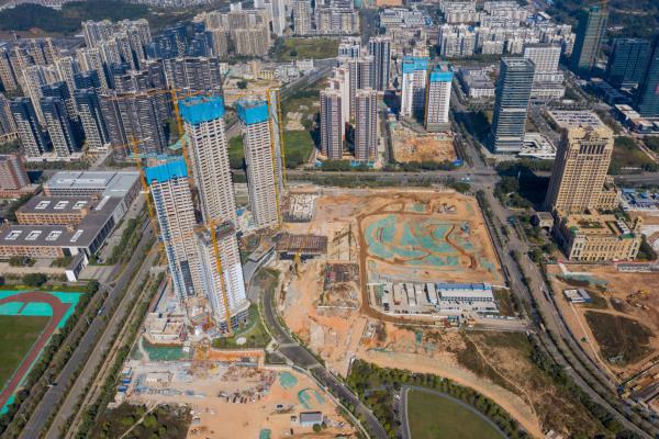 世茂深港国际中心实景图