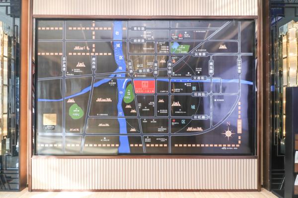 商河碧桂园公园上城区位图