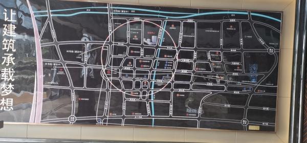 连城中心实景图