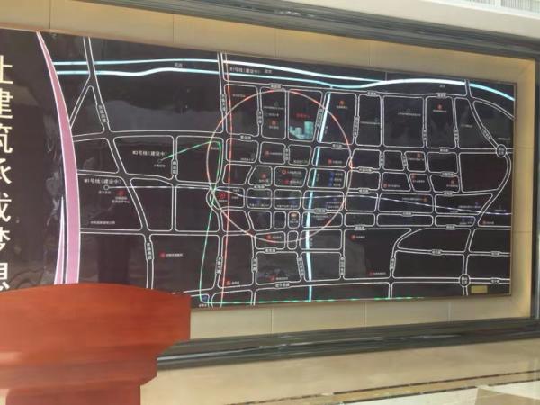 连城中心项目现场