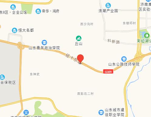 新中铁城区位图
