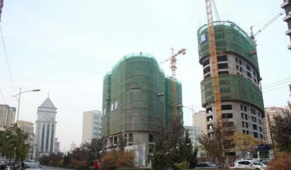 鼎泰·中汇广场项目现场