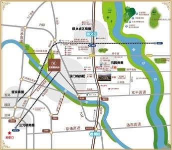 顺鑫汇区位图