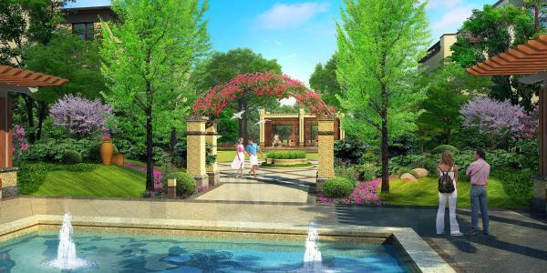 西安世丰和园效果图