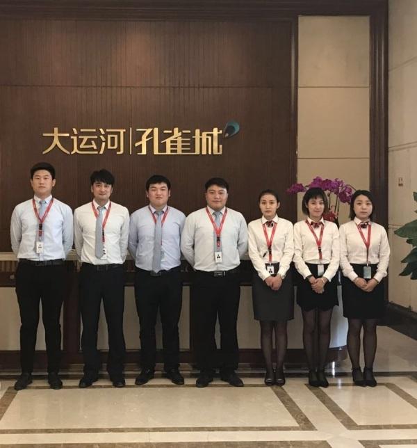 大运河孔雀城时代锦悦项目现场