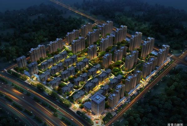 中国铁建·燕山国际城效果图
