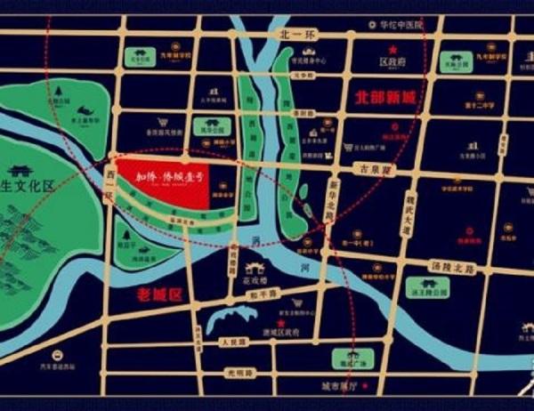 亳州加侨·侨城壹号区位图