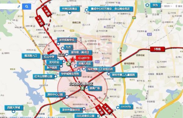 深圳红山6979小区配套