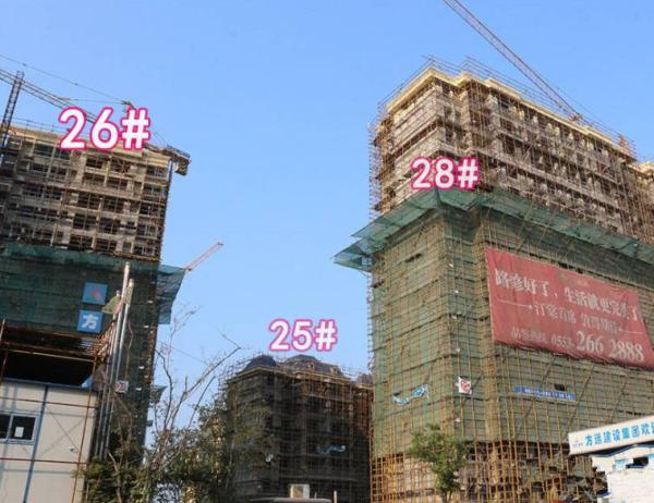 芜湖东方蓝海项目现场