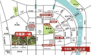 华晨第一城区位图