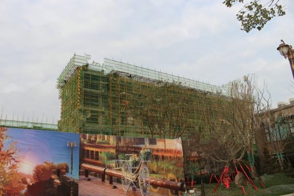 蚌埠恒大滨河左岸实景图