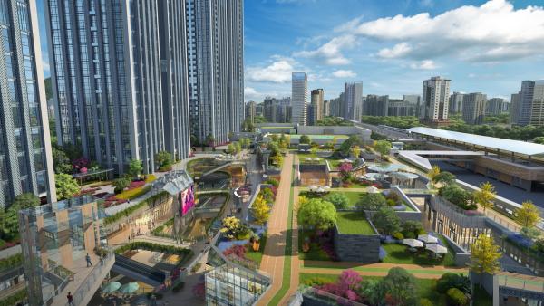 深圳恒大城市之光效果图