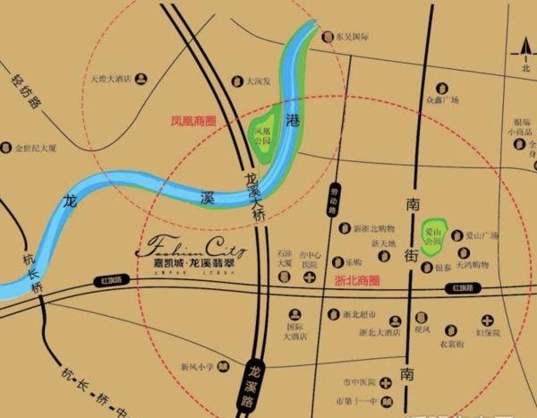 湖州龙溪翡翠区位图
