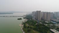 蚌埠玉龙湖畔实景图