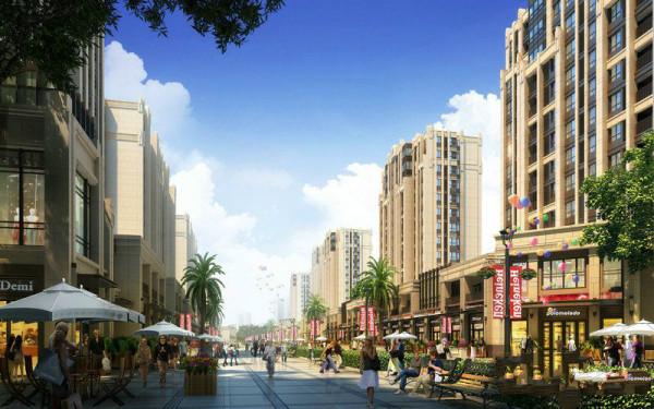 蚌埠绿地迎宾城效果图