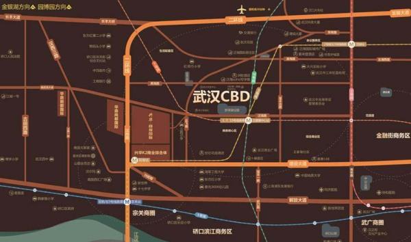 兴华·尚都国际区位图