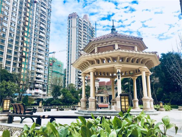 福清恒大城实景图